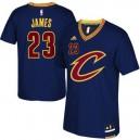 CAVS #23 Lebron James 2015-16 neue Saison Short Sleeves Kaufen Basketball Trikots