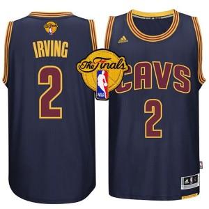 NBA 2016 Finals Cavaliers Kyrie Irving Marine neue Swingman Kaufen Basketball Trikots