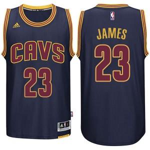 Cleveland Cavaliers #23 Lebron James neue Swingman Marine Kaufen Basketball Trikots