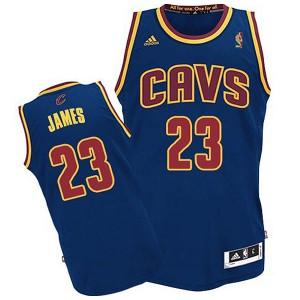 Jugend Cleveland Cavaliers #23 Lebron James CAVS Revolution 30 Swingman Blau Kaufen Basketball Trikots