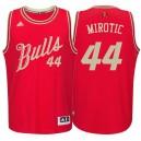 Chicago Bulls &44 Nikola Mirotic Red 2015 Christmas Day Swingman Jersey