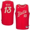 NBA 2015-16 Season Chicago Bulls &13 Joakim Noah Christmas Day Red Jersey