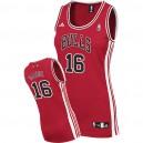 Women Chicago Bulls &16 Pau Gasol Red Jersey