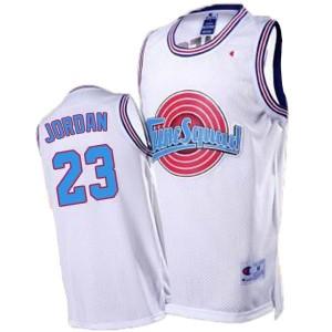 Michael Jordan Space Jam #23 Tune Squad Throwback Weiß Kaufen Basketball Trikots