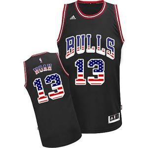 Chicago Bulls #13 Joakim Noah 2015 American flag Special Editon Kaufen Basketball Trikots