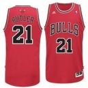 Jugend Chicago Bulls #21 Jimmy Butler Revolution 30 Swingman Rot Kaufen Basketball Trikots