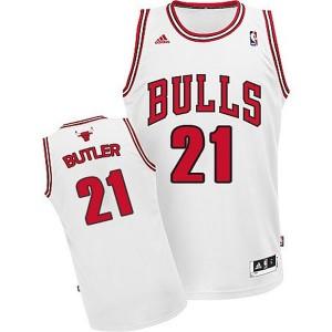 Jugend Chicago bulls #21 Jimmy Butler Revolution 30 Swingman Startseite Weiß Kaufen Basketball Trikots