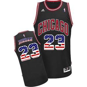 Chicago Bulls #23 Michael Jordan 2015 American flag Special Editon Kaufen Basketball Trikots