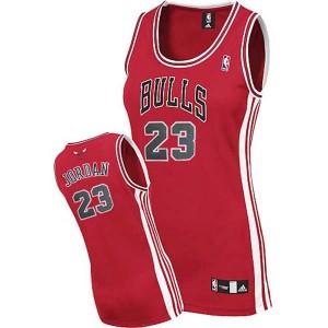Chicago bulls #23 Michael Jordan Swingman Frauens Rot Kaufen Basketball Trikots