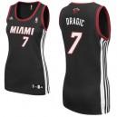 Miami Heat &7 Goran Dragic Women Black Jersey