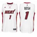 Miami Heat &1 Chris Bosh New Swingman Home White Jersey