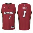 Miami Heat #1 Chris Bosh neue Swingman Rot Kaufen Basketball Trikots