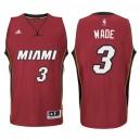 Miami Heat &3 Dwyane Wade New Swingman Red Jersey