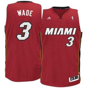 Jugend Miami Heat #3 Dwyane Wade Revolution 30 Rot Swingman Kaufen Basketball Trikots