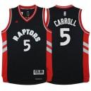 Toronto Raptors &5 Demarre Carroll New Swingman Black Jersey