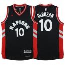 Toronto Raptors &10 DeMar DeRozan 2015-16 Away Alternate Black Jersey