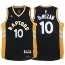 Toronto Raptors &10 DeMar DeRozan 2015-16 Away Alternate Brown Jersey