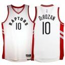 Toronto Raptors &10 DeMar DeRozan 2015-16 New Swingman Home White Jersey