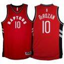 Toronto Raptors &10 DeMar DeRozan 2015-16 Away Red Jersey