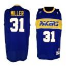 Indiana Pacers 1985-1990 &31 Reggie Miller Hardwood Classics Soul Swingman Jersey