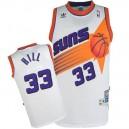 Phoenix Suns &33 Grant Hill Hardwood Classics Swingman Home White Jersey