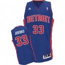 Detroit Pistons &33 Jonas Jerebko Revolution 30 Swingman Road Jersey
