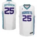 Charlotte Hornets &25 Al Jefferson Revolution 30 Swingman Home White Jersey
