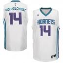 Charlotte Hornets &14 Michael Kidd-Gilchrist Revolution 30 Swingman Home White Jersey