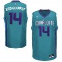 Charlotte Hornets &14 Michael Kidd-Gilchrist Revolution 30 Swingman Alternate Teal Jersey