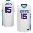 Charlotte Hornets &15 Kemba Walker Revolution 30 Swingman Home White Jersey