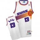 Phoenix Suns &13 Steve Nash Hardwood Classics Swingman Home White Jersey