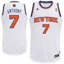 Youth New York Knicks &7 Carmelo Anthony Revolution 30 Swingman Home White Jersey
