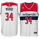 Washington Wizards &34 Paul Pierce 2014-15 New Swingman Home White Jersey