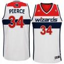 NBA Washington Wizards &34 Paul Pierce Revolution 30 Swingman Home White Jersey