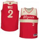 NBA 2015-16 Season Washington Wizards &2 John Wall Christmas Red Jersey