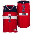 Washington Wizards &2 John Wall 2014 Christmas Day Big Logo Swingman Jersey