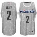 Washington Wizards &2 John Wall City Lights Gray Swingman Jersey