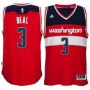 Washington Wizards &34 Bradley Beal 2014-15 New Swingman Road Red Jersey