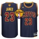 NBA 2015 Finals Cavaliers LeBron James Navy New Swingman Jersey