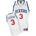 Philadelphia 76ers &3 Allen Iverson Revolution 30 Home Jersey