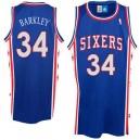 Philadelphia 76ers &34 Charles Barkley Swingman Blue Jersey