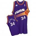 Phoenix Suns &34 Charles Barkley Soul Swingman Purple Jersey