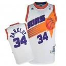 Phoenix Suns &34 Charles Barkley White Soul Swingman Jersey