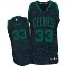 Boston Celtics &33 Larry Bird Crazy Light Leopard Swingman Jersey