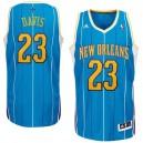 Anthony Davis New Orleans Hornets Revolution 30 Swingman Creole Blue Jersey