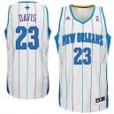 Anthony Davis New Orleans Hornets Revolution 30 Swingman White Jersey