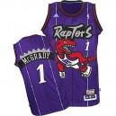 Youth Toronto Raptors &1 Tracy McGrady Soul Swingman Stitched Purple Jersey