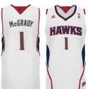 Atlanta Hawks &1 Tracy McGrady Revolution 30 Swingman Home Jersey