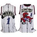 Toronto Raptors &1 Tracy McGrady Soul Swingman Stitched White Jersey