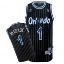 Orlando Magic &1 Tracy McGrady Black Soul Stripe Swingman Jersey